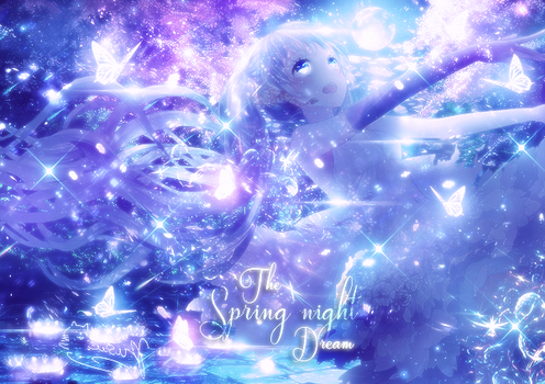 {Signature - Banner} The Spring night Dream by DaoThiCamTu