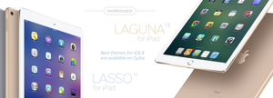 Lasso and Laguna for iPad on iOS 8 by minhtrimatrix