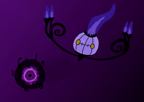 Chandelure used Shadow Ball by Poke-lover88
