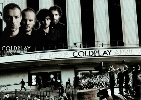 coldplay poster by andreim