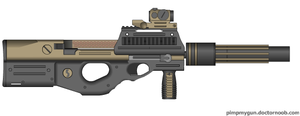 "SPW ""Operator"" P90 by Robbe25"
