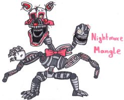 Nightmare Mangle by YouCanDrawIt