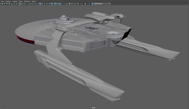 WIP: mystery ship 06, coming together by harroldsheep