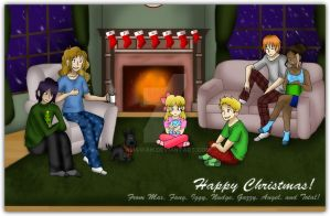 MR: Christmas Card by AliAvian