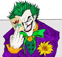 the joker by 14miguel