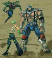 tb fighters by b0sley