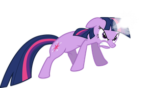 Twilight Sparkle - I'll Blast You to Bits! by Firestorm-CAN