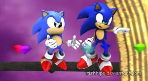Sonic Generations: Super Sonic Style by Irishhips