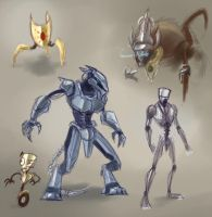 Mechanima Bots by Robo-Shark
