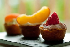 Fruity Ricotta Petit Fours by bfrena