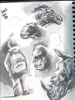 zoo sketch2 by kidchuckle