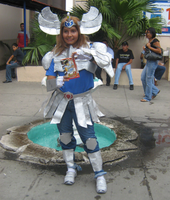 Cosplay Cisne Hyoga by HollyMotto