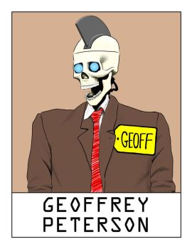AlphaBots Week VII: G is for Geoffrey Peterson by SamWolk
