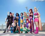Superhero Disney Princesses by NovemberCosplay