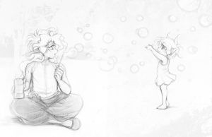 Bubbles . by Achiru-et-al