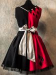 Harley Quinn style dress back by SweetSaurona