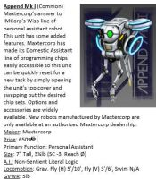 Excerpt-Maxtercorp Append by TheMightyGorga