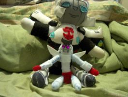 Ratch and Prowl by Pharaoh-Yami