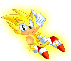 Super Sonic V1 by TokeiTime