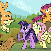 With Friends Like These ... (Comic Preview) by drawponies