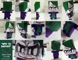 Coringa bean head 2013 by kriptoniana