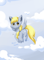 Derpy hooves by Mimkage