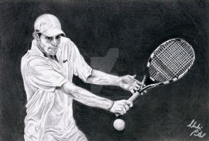 Andy Roddick by Shalvi
