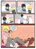 Aoilee Valentine Day by marilie7777