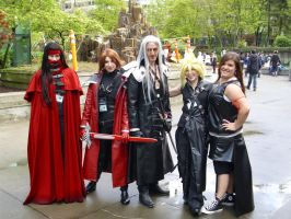SakuraCon Day 1: Group Pic 3 by Vega-Sailor-Cosplay