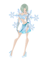winter my fariy of snowflake by ladykraven