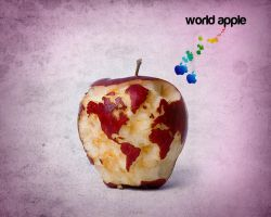 apple world by zoomaaaa