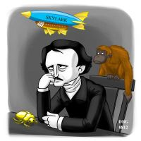 Writers and what we think of them: Edgar Allan Poe by BahalaNa