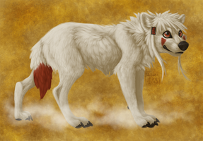 A wolf for Wolf by WolvenBird
