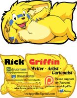 New Business Cards! by RickGriffin