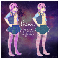 Faina Ref Sheet by Late-Night-Cannibals