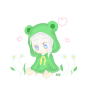 Chibi Froggie Girl by CharmingDarling