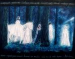 The Passing of the Elves by Gwillieth
