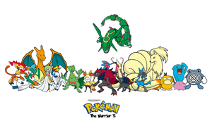 Pokemon: The Warrior 5 Cast by NobleKnightwolf