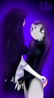 Raven x Blackfire by OrbitalWings