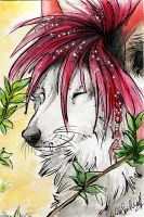 ACEO .: Glitter Eleweth :. by WhiteSpiritWolf