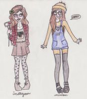My Halloween Costumes by mox-ie