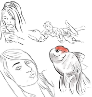 Sketchdump by Remyreaper