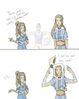 Katara, the cool mom by theOriginalKEA