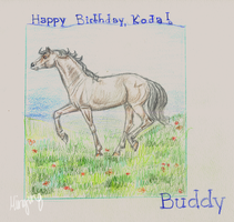 Happy Birthday, Koda! by Minging