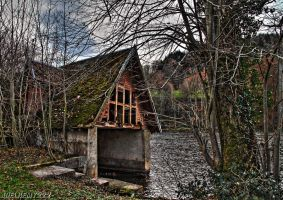 Old hangar for boats by J222R