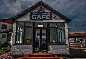 The light railway cafe by forgottenson1
