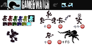 Mr. Game and Watch's Profile by egallardo26