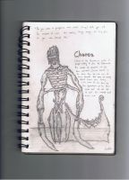 SketchBook Drawings 4- Charon of Eden by Pyrovilekiller