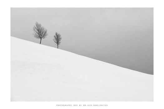 Two on the slope by DimensionSeven