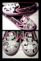 TUA Customized Shoes by LieutenantDeath